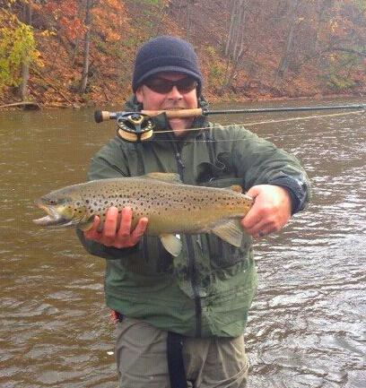 Salmon steelhead and brown trout fishing in new york state for York river fishing report